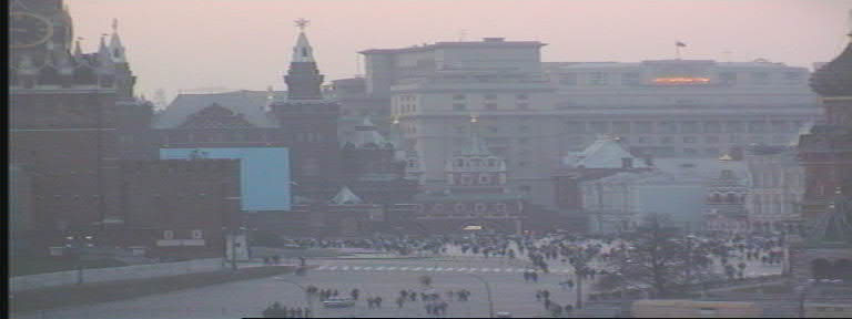 Red Square, 9 PM May Day 1998